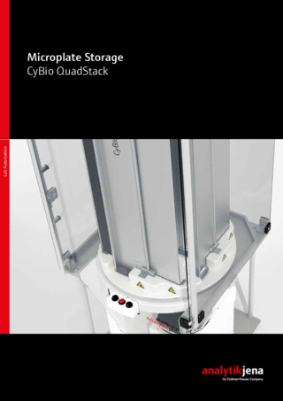Brochure CyBio QuadStack - Microplate Storage (English)